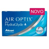 Air Optix plus HydraGlyde 3 lentes