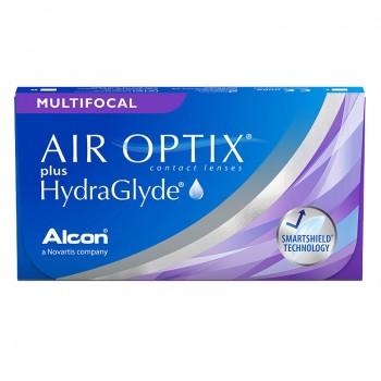 Air Optix plus HydraGlyde Multifocal 6 lentes