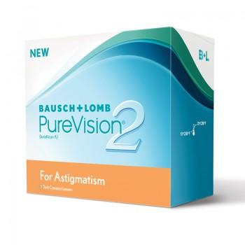 Lentes de Contacto PureVision 2HD for Astigmatism 3 UN