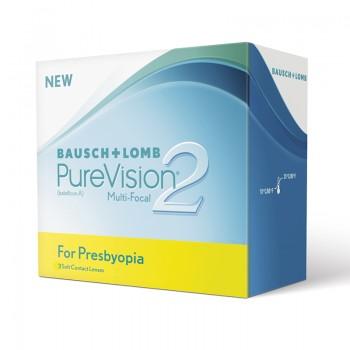 Lentes de Contacto PureVision 2HD for Presbyopia 3 UN
