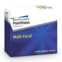PureVision Multi-focal 6 lentes