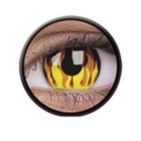 Crazy Lens Anuais Flame Hot - 2 Lentes