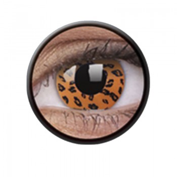 Crazy Lens Anuais Yellow Leopard - 2 Lentes