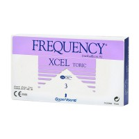 Frequency Xcel Toric XR 3 lentes