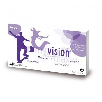 Lentes de Contacto My. Vision Max Toric 6 UN.