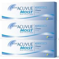Lentes de Contacto 1 Day Acuvue Moist for Astigmatism 90 UN.
