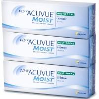 Lentes de Contacto 1 Day Acuvue Moist Multifocal 90 UN.