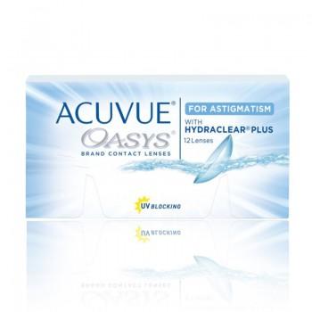 Lentes de Contacto Acuvue Oasys Astigmatism 12 UN.