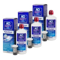 Pack 3 x Aosept Plus 360 ml