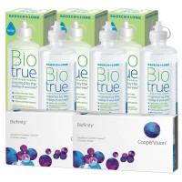 Pack 3x Biotrue 300ml + 2x Biofinity 6 lentes